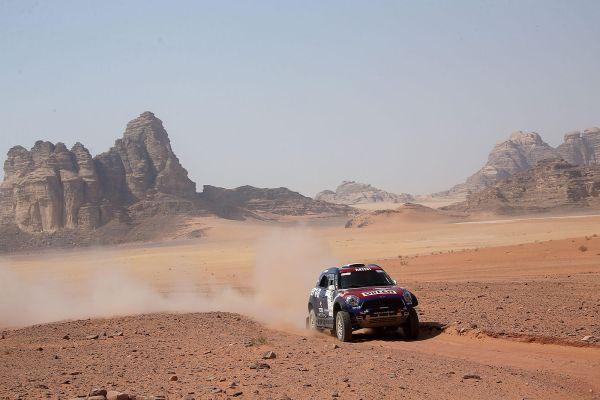 Poland's Przygonski maintains slender advantage in gruelling Jordan Baja
